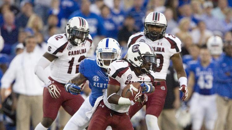 NCAA Football: South Carolina at Kentucky