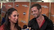 Cheryl Burke and William Levy backstage after Night 1 of the Season 14 &#39;Dancing with the Stars&#39; finals, May 21, 2012 -- Access Hollywood