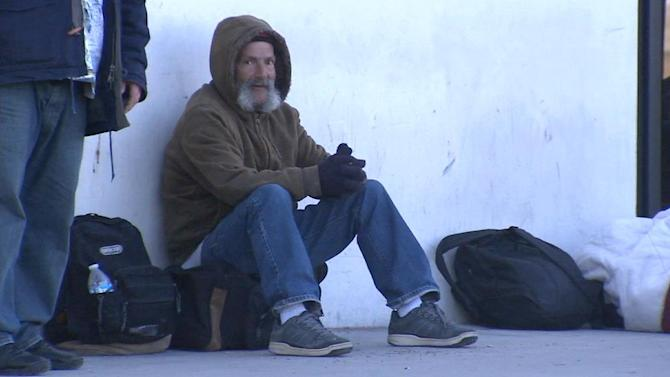 Riverside shelter helps needy as temps plunge