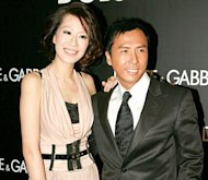 Donnie Yen's wife to star in commercial