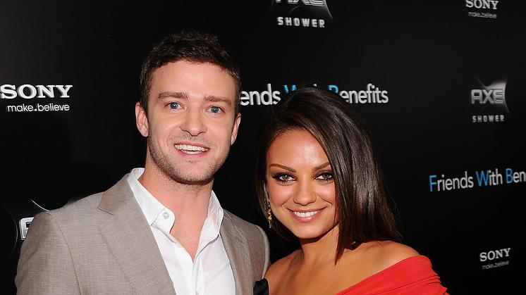 Friends with Benefits 2011 NY Premiere Justin Timberlake Mila Kunis