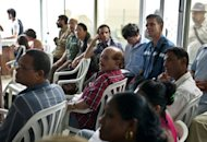 "Cuban opposition bloggers participate in the inauguration of the ""CLICK Festival"" in Havana. Under the wary eye of Cuba's Communist authorities, opposition bloggers on Thursday kicked off the three-day event promoting Internet use to discuss the island's problems"