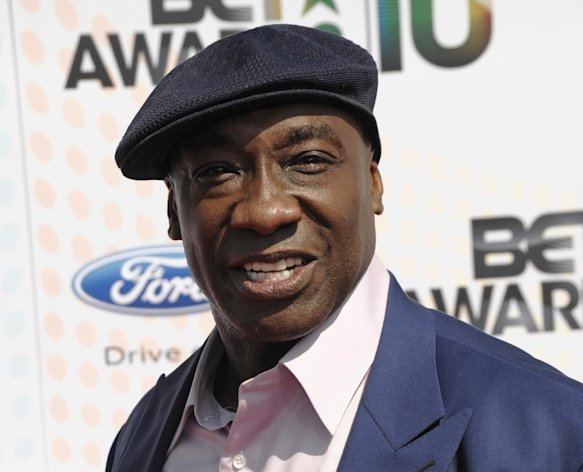 FILE - This June 27, 2010 file photo shows actor Michael Clarke Duncan at the BET Awards in Los Angeles. Duncan has been hospitalized in Los Angeles after a heart attack. Publicist Joy Fehily says in a brief email statement that the 54-year-old actor suffered a myocardial infarction early Friday, July 13, 2012. She says his heart rate has stabilized and he&#39;s expected to make a full recovery. (AP Photo/Dan Steinberg, file)