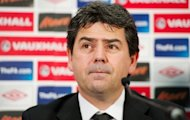 England Managing Director Adrian Bevington speaks in February 2012. England will play friendlies against Brazil and the Republic of Ireland in 2013 as a way of launching the Football Association&#39;s 150th anniversary, the national governing body said Wednesday