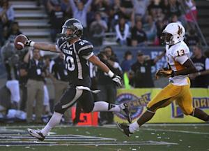Nevada rallies for 35-28 win over Wyoming in OT