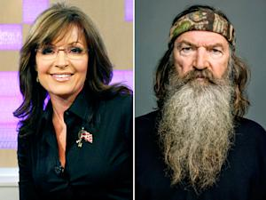 "Sarah Palin Defends Duck Dynasty's Phil Robertson: ""Free Speech Is an Endangered Species"""