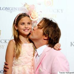 Anna Nicole Smith's Daughter Looked Precious At The Kentucky Derby