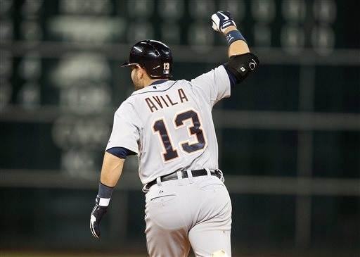 Avila's 2-run HR in 9th lifts Tigers past Astros