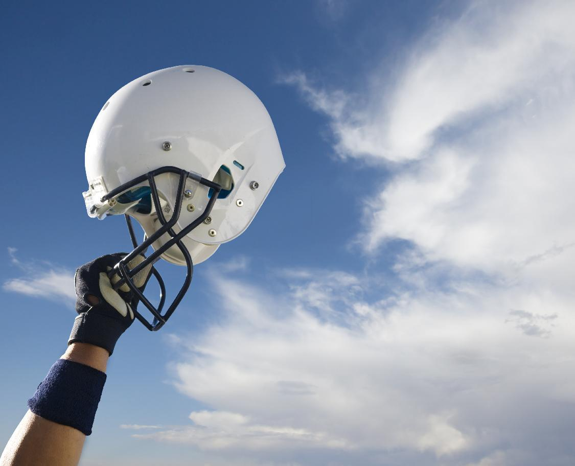Helmet add-ons don't optimize protection during contact sports: study