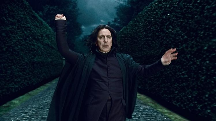 Harry Potter and the Deathly Hallows pt 1 2010 Alan Rickman