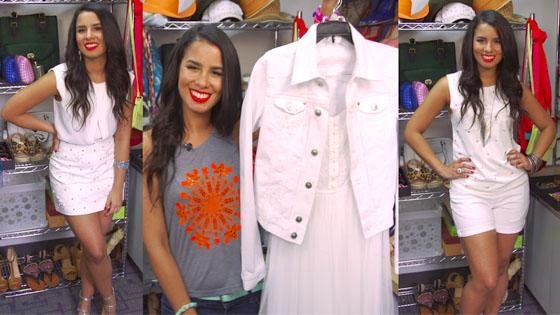 Shopaholics on Call: Toda de blanco