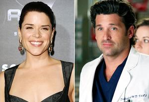 Neve Campbell, Patrick Dempsey | Photo Credits: Frazer Harrison/Getty Images, Danny Feld/ABC