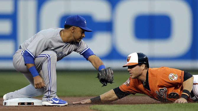 Blue Jays 2B Izturis out 4-6 months with bad knee