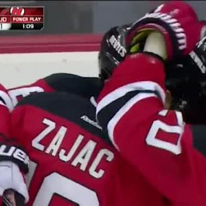 Travis Zajac Goal on Niklas Svedberg (05:57/3rd)