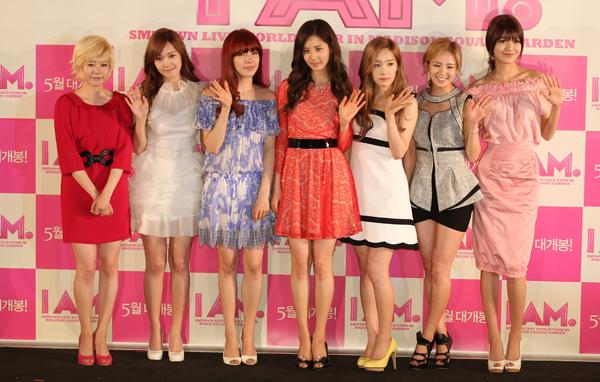 Girls' Generation has more than one million friends on KakaoTalk