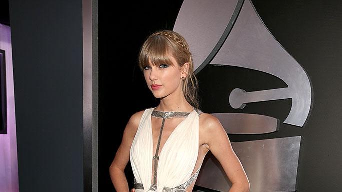 The 55th Annual GRAMMY Awards - Red Carpet: Taylor Swift