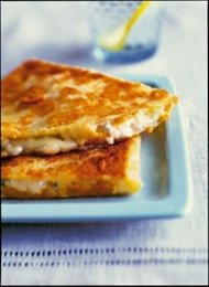 Butternut Squash and Blue Cheese Quesadilla, Photo by Maren Caruso