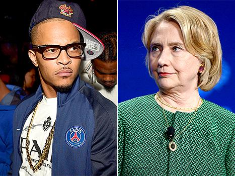"""T.I. Says He Wouldn't Vote for Hillary Clinton for President Because """"Women Make Rash Decisions Emotionally,"""" Then Apologizes"""