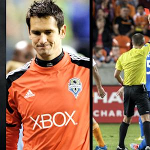 Red Cards and Penalty Kicks in Knockout Round | Playoff Central