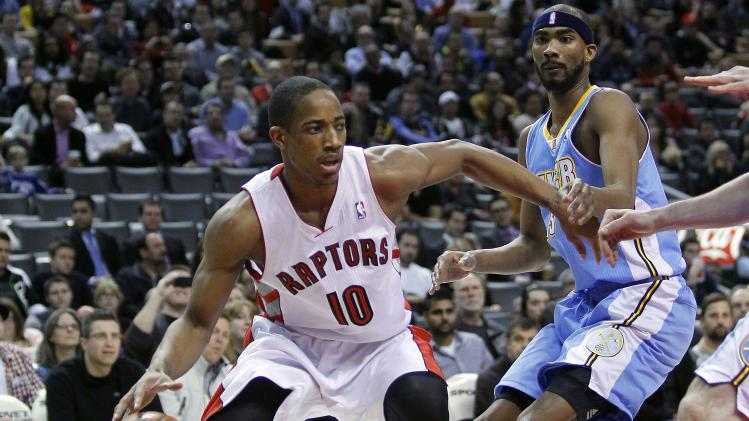 NBA: Denver Nuggets at Toronto Raptors