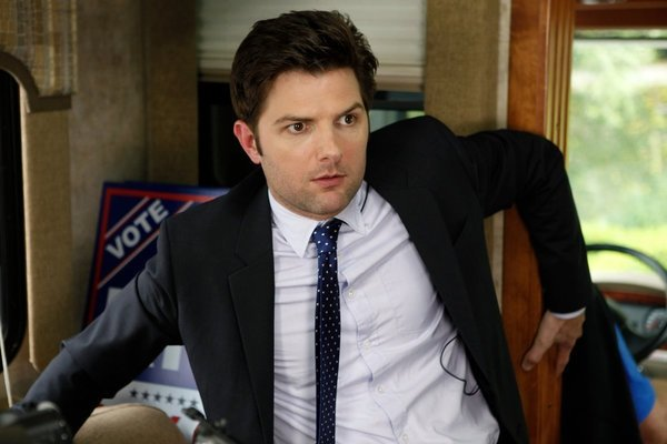 Eye on Emmy: Adam Scott Takes the Lead, Hails Parks' 'Impressive' Cast, 'Amazing' Guest Stars