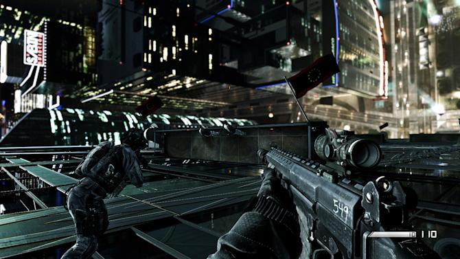 """This video game image released by Activision shows a scene from """"Call of Duty: Ghosts."""" (AP Photo/Activision)"""