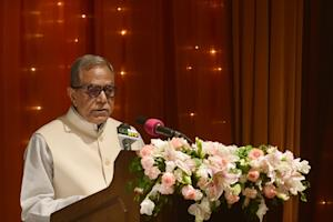Bangladesh President Abdul Hamid, pictured, turned …