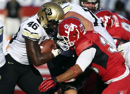 Fresno State rolls past winless Colorado 69-14