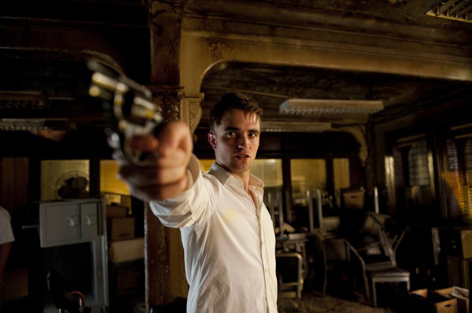 "This film image released by Entertainment One shows Robert Pattinson in a scene from ""Cosmopolis."" (AP Photo/Entertainment One)"