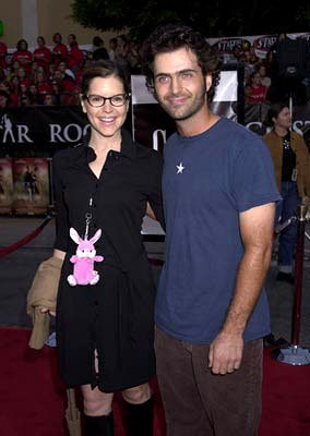 Premiere: Lisa Loeb and Dweezil Zappa at the Westwood premiere of Warner Brothers' Rock Star - 9/4/2001 