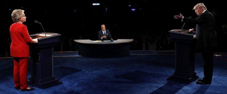 Debate Review: Trump and Clinton in a Clash of Styles