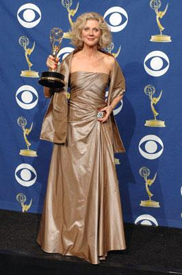 "Blythe Danner, winner - Outstanding Supporting Actress in a Drama Series for ""Huff"" 57th Annual Emmy Awards Press Room - 9/18/2005"