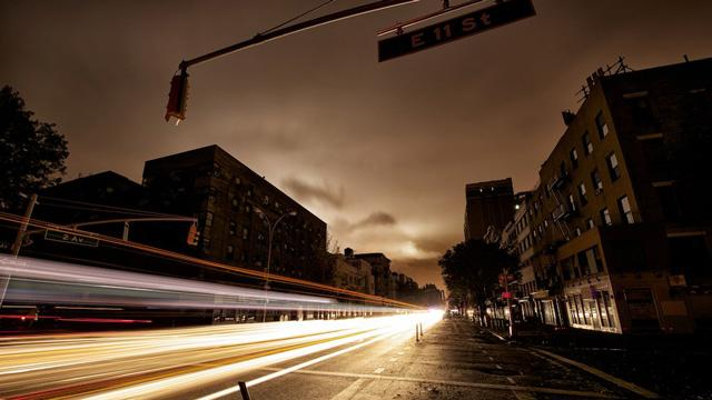 Long Exposure Photos Illuminate NYC's Blackout Zone