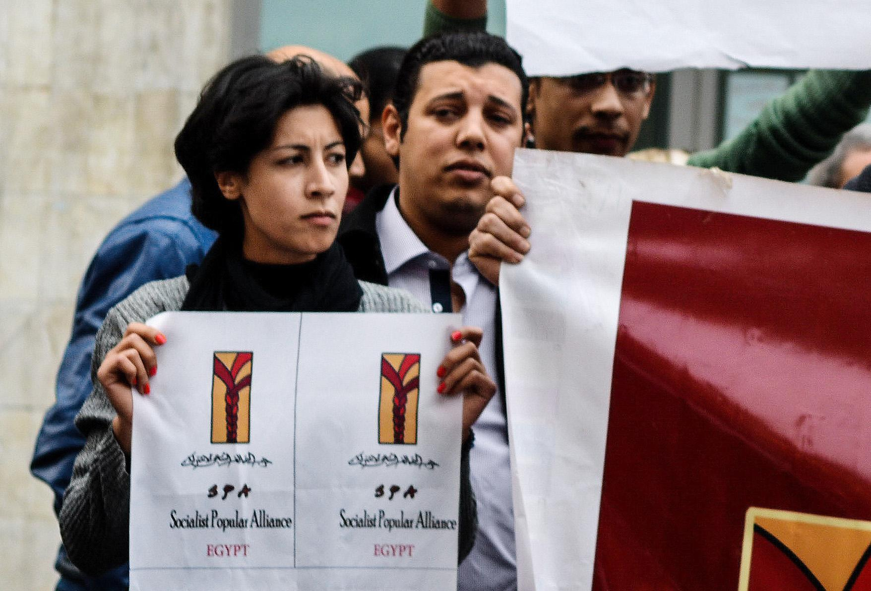 Egypt seeks to distance police from protester killing