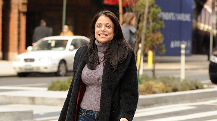 Frankel Bethenny Walks Dog