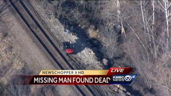 Missing 92-year-old found dead near railroad tracks