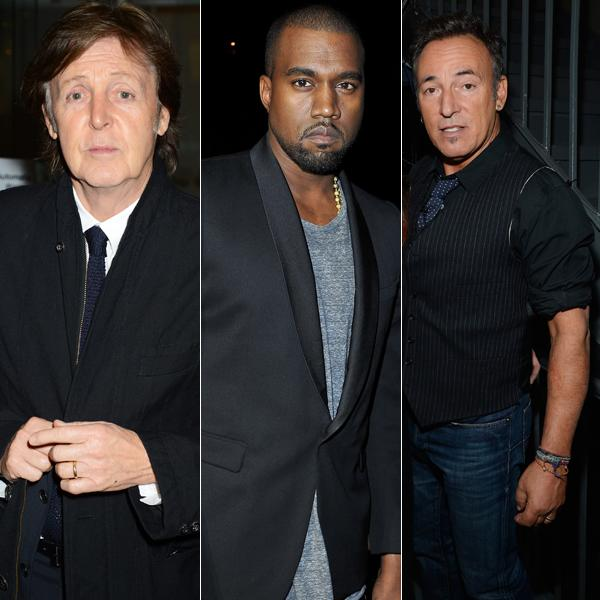 Paul McCartney, Bruce Springsteen and Kanye West Lead '12-12-12' Sandy Benefit