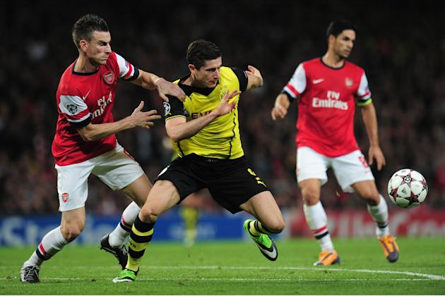 Arsenal vs Borussia Dortmund 1-2 All Goals & Highlights Champions League 22/10/2013