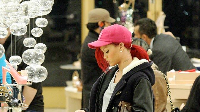Rihanna Shopping