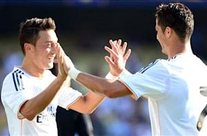 Everton 1-2 Real Madrid: Ronaldo and Ozil on target as Madrid moves to final