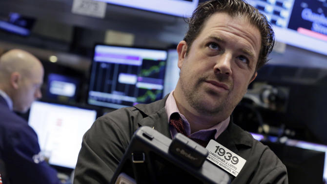 Stocks fall as tensions with Syria escalate