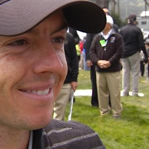 Rory McIlroy interview after the Semifinals of Cadillac Match Play