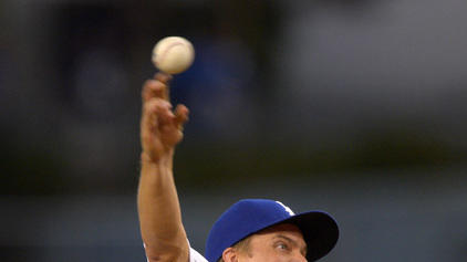 Greinke and Dodgers beat Cubs 6-2
