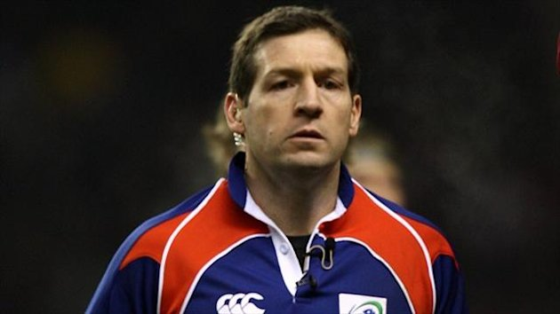 Alain Rolland takes charge of the Heineken Cup semi-final between Saracens and Toulon