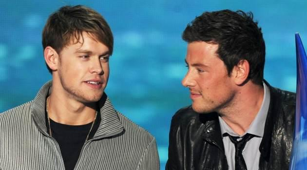 Chord Overstreet, Cory Monteith -- Getty Images