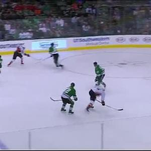 Kari Lehtonen Save on Emerson Etem (11:19/1st)