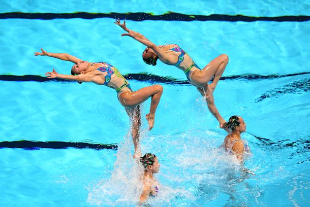 Synchronized Swimming - 15th FINA World Championships: Day Three