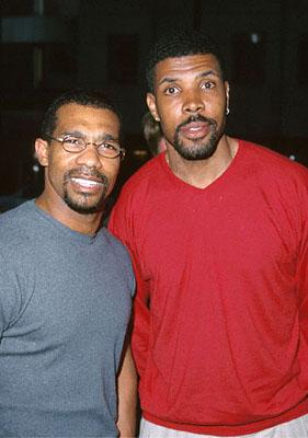 Premiere: Michael Beach and Eriq La Salle at the Beverly Hills Academy Theater premiere for Dreamworks' Gladiator - 5/1/2000