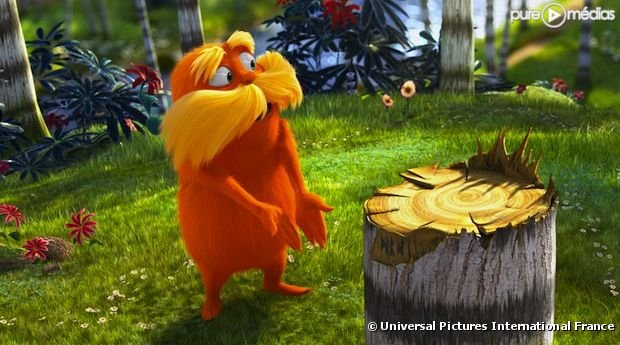 Premires sances : Le Lorax tout petit leader devant Paris-Manhattan