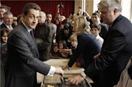 France votes in presidential runoff election